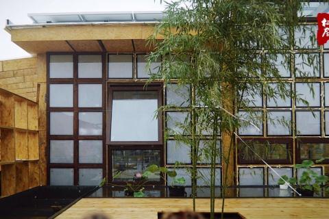 山东德州太阳能小镇栖居2.0气凝胶玻璃应用案例