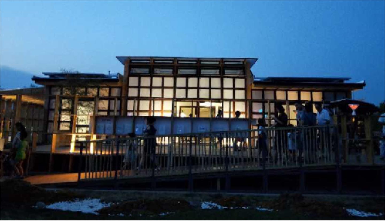 山東德州太陽能小鎮棲居2.0氣凝膠玻璃應用案例
