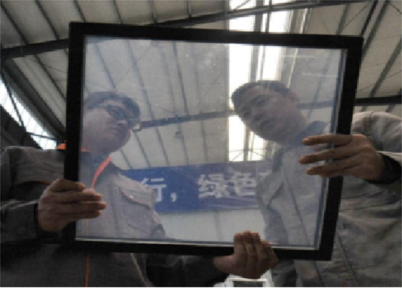 巖拓氣凝膠玻璃