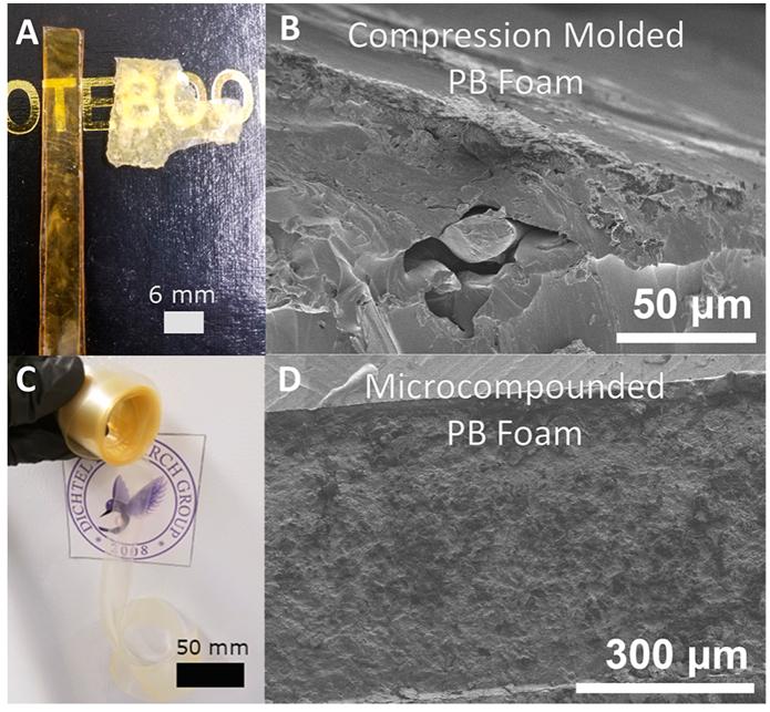 新技术实现热固型聚氨酯发泡材料的回收再利用