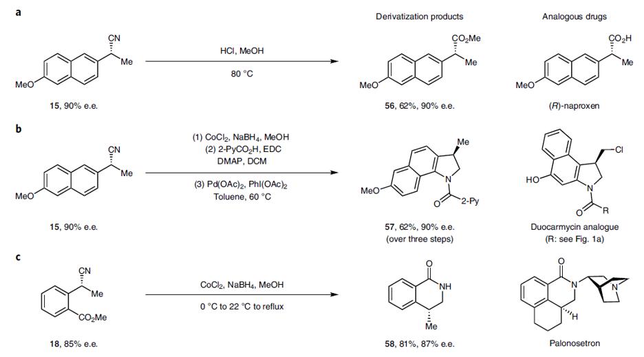 美国康奈尔大学林松团队《自然·化学》:电驱动双金属催化共轭烯烃氢氰化反应