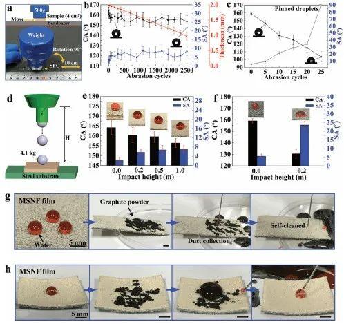 清华大学郑泉水院士团队《AFM》:耐磨损、耐冲击、自清洁的超疏水/超疏油微纳复合材料