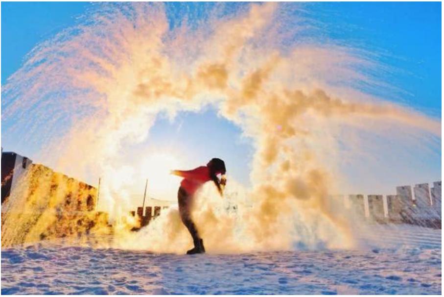 """""""泼水成冰那么火!为什么要用热水,你知道吗?《Nature》揭秘:热水比冷水结冰更快"""