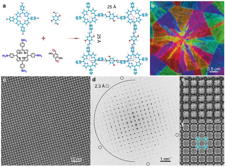 冯新亮团队最新《Sci.Adv.》:带你领略二维聚合物中的圆缺之美