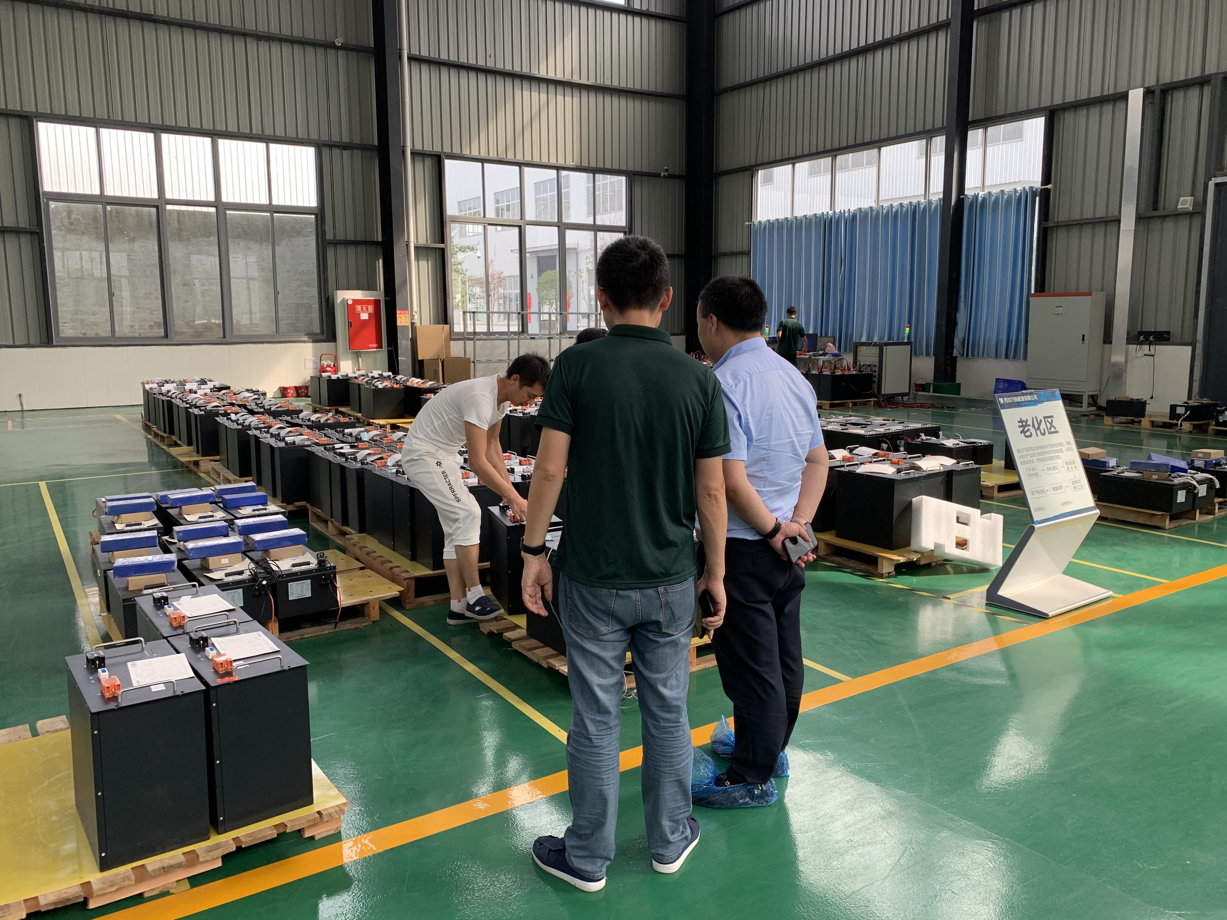 岩拓科技董事长调研考察四川某能源有限公司生产基地