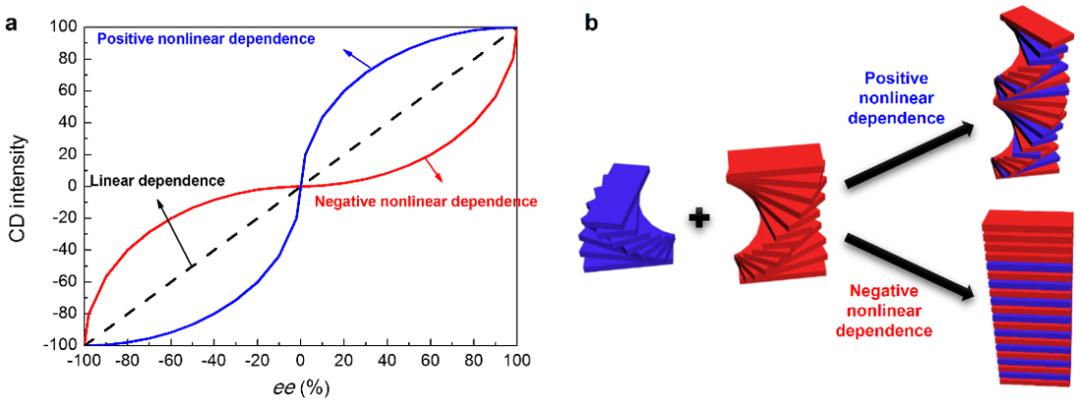 厦门大学江云宝教授课题组:超分子手性的非线性相关