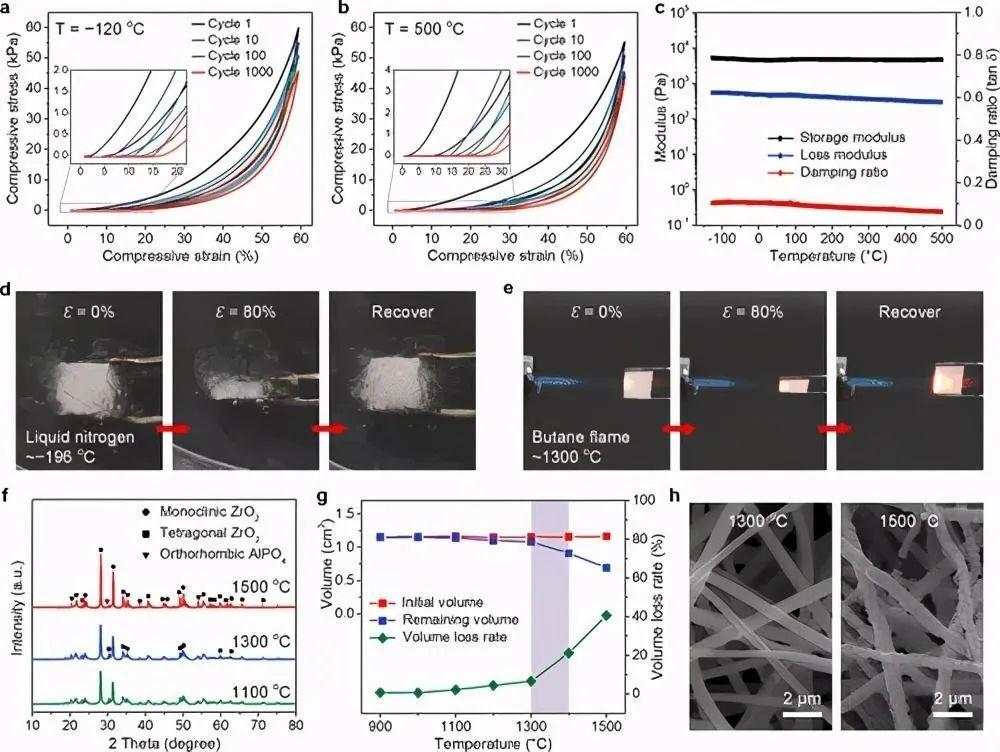 这款新研发的纳米纤维气凝胶超强、超弹性、耐高温!你认识了吗?-1