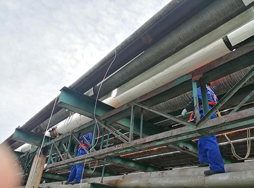 巴陵石油石化气凝胶管线保温案例