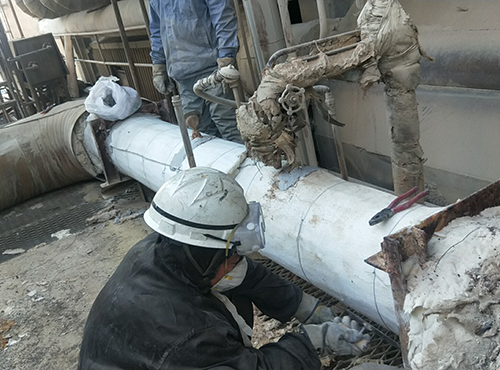 燕山石油石化气凝胶管线保温案例