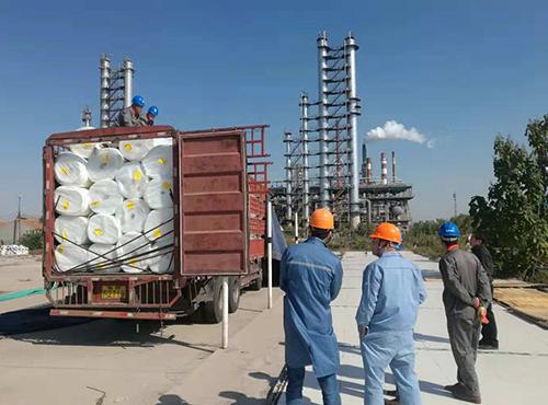 青岛石油石化气凝胶管线保温案例