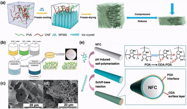 纳米纤维素气凝胶综述:制备,改性,复合制造,应用