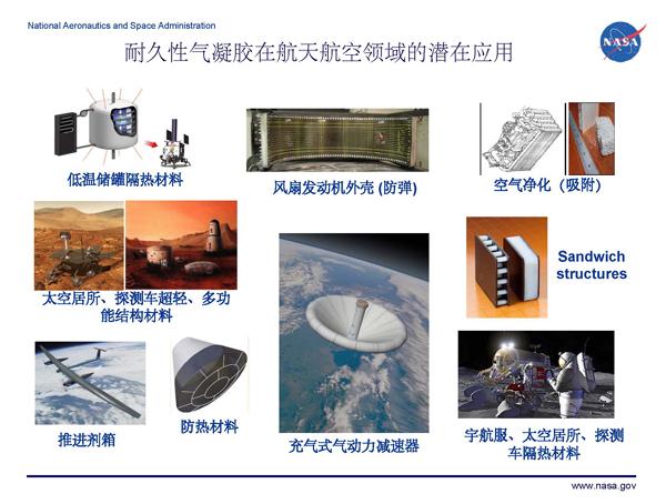 气凝胶:从航天到民用