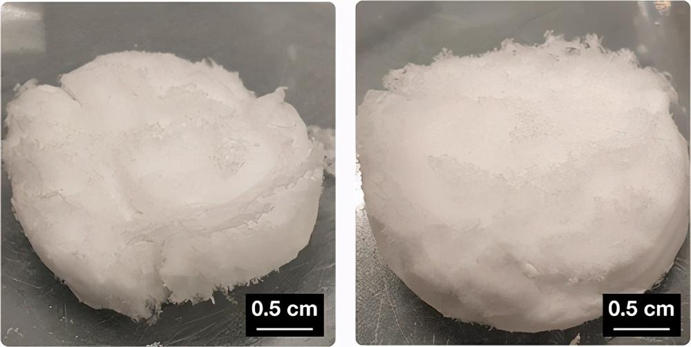 《Biomacromolecules》自组装3D 纤维蛋白原水凝胶和气凝胶-2
