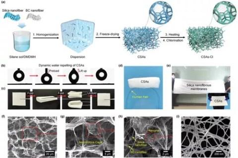 东华大学斯阳/丁彬:分层笼状超柔纳米纤维气凝胶,实现可再生抗菌空气过滤